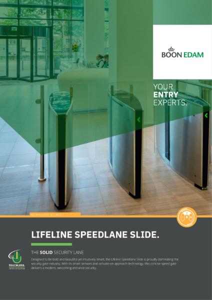 Speedlane Slide - customisable and intuitive speed gate
