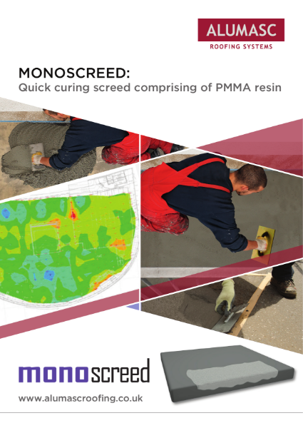 Monoscreed - PMMA Quick Curing Screed