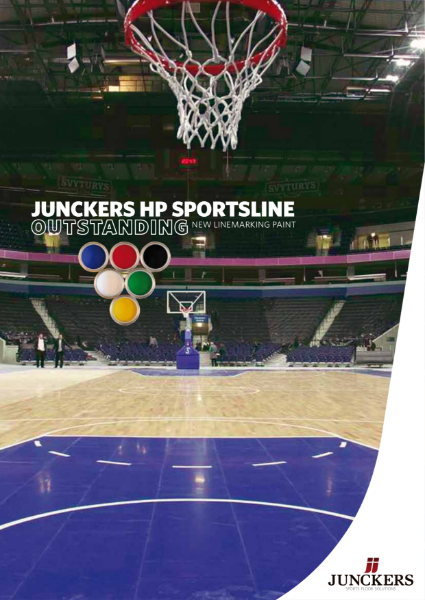 Junckers High Performance SportsLine