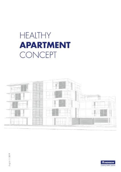Healthy Apartment Concept