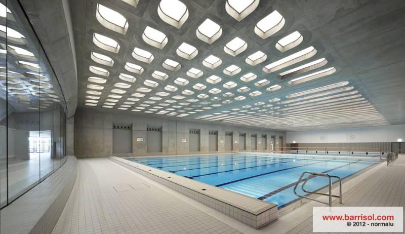 Barrisol Light - Aquatics centre - London