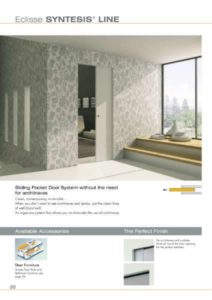 Syntesis® Flush Pocket Door System
