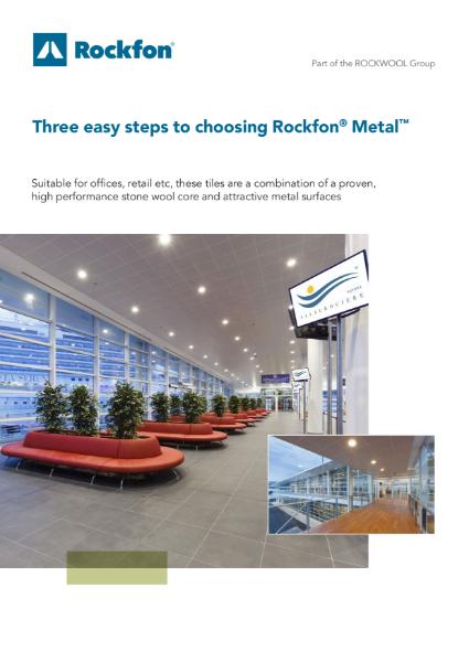 3 Easy Steps to Choosing Rockfon Metal Acoustic Ceilings
