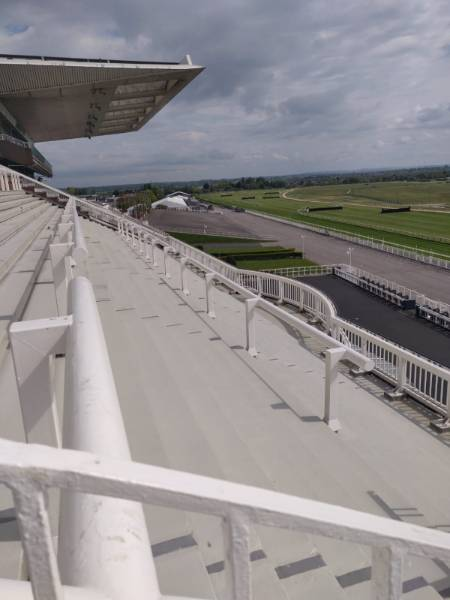 Aintree Racecourse - Koster Flooring Systems to Grandstand