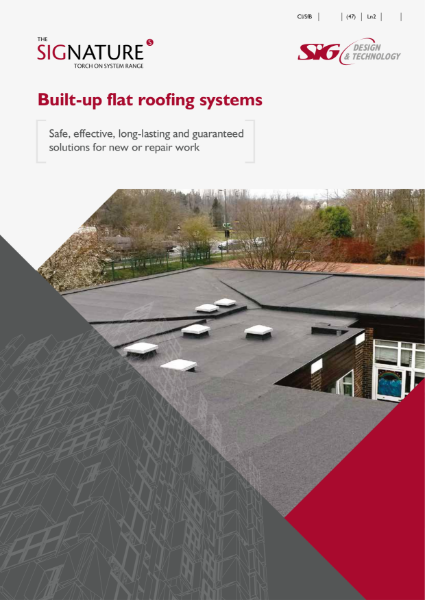 SIGnature Built-up Flat Roofing System Brochure