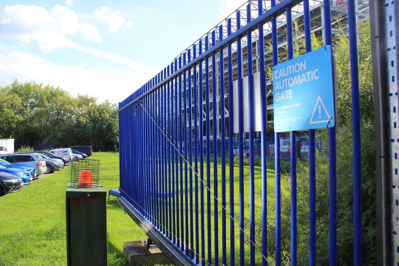 Perimeter protection and access control for storage facility