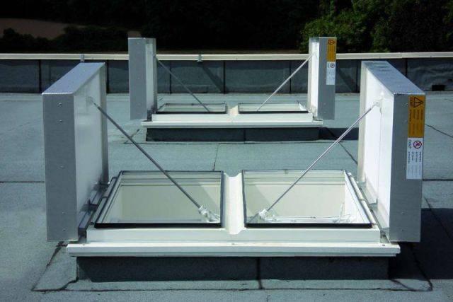 Meteor MLS Natural Twin Flap Ventilator