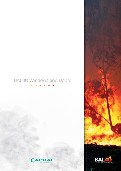 Capral Aluminium BAL40 Windows and Doors
