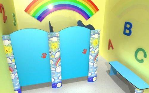 Little Ones Toilet Cubicles
