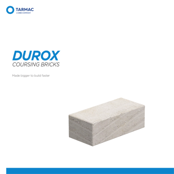 Durox Coursing Bricks - Aircrete Blocks Product Guide