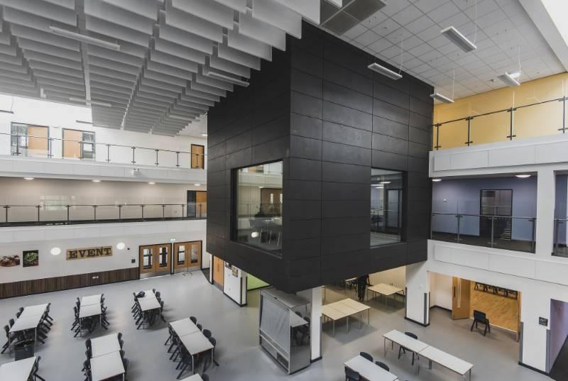 Rockfon solve demanding challenges with intelligent ceiling solutions