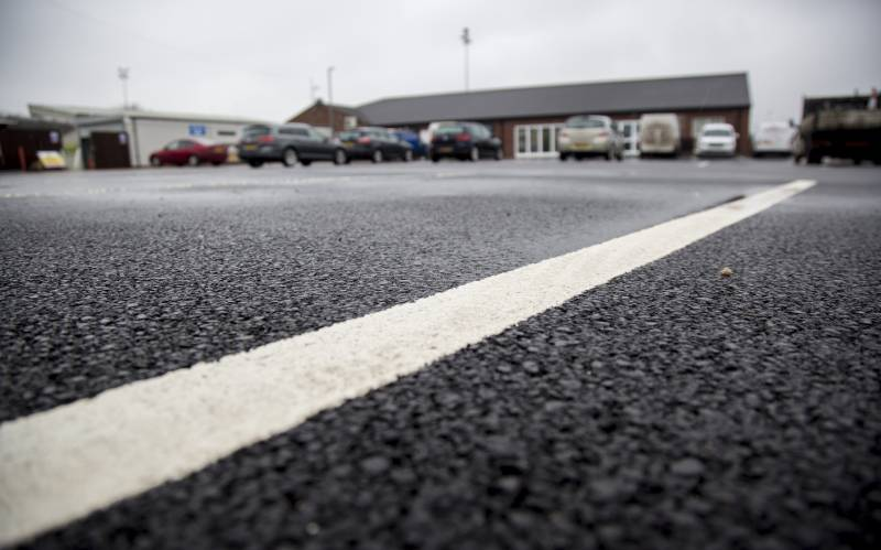 Tarmac Ultifastpave car park surface