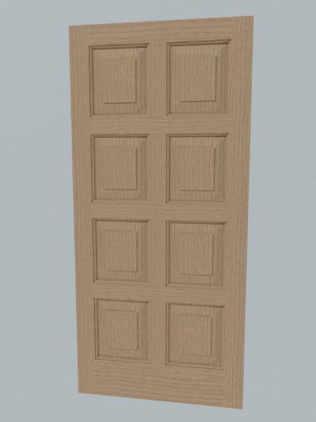8 Panel Door
