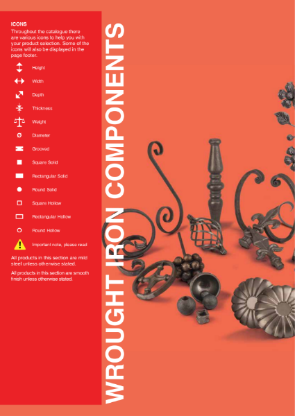 Wrought Iron Components Part 1