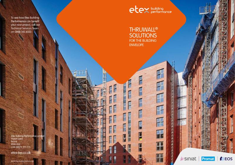 Siniat Thruwall® Brochure - design solutions for the building envelope