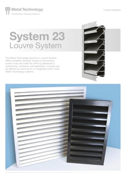 Aluminium Louvre System