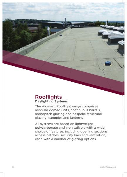 Alumasc Rooflights Brochure
