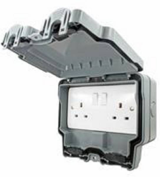 Elemento - IP66 Switched Power Socket Outlets