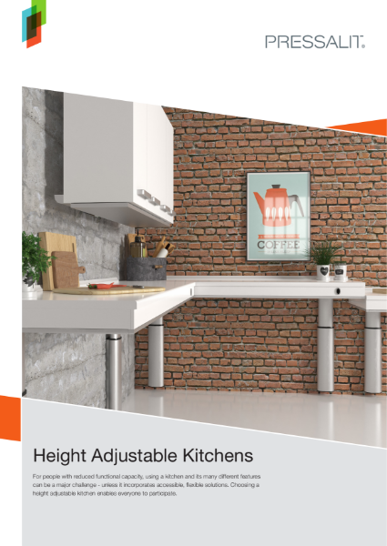 Pressalit Height Adjustable Kitchens