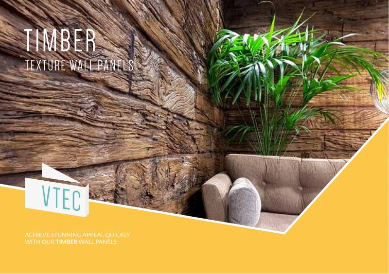 Timber Texture Panels - Brochure