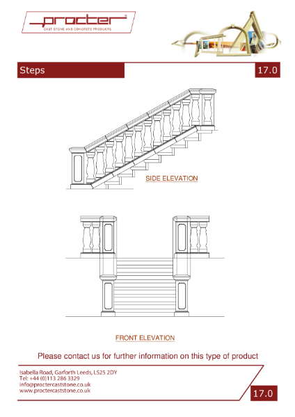 Drawings - Steps & Treads