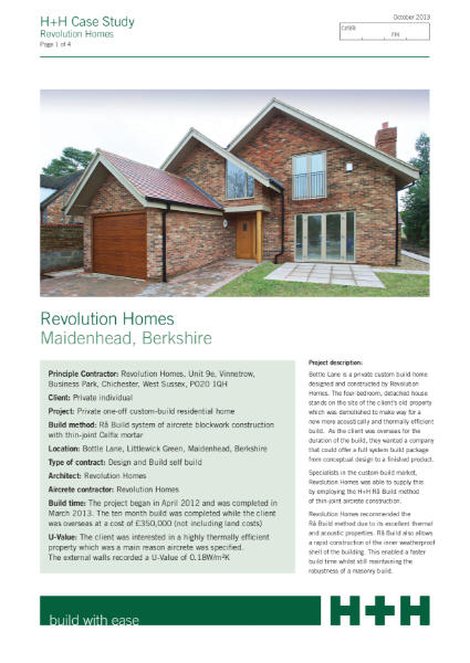 Revolution Homes, Berkshire
