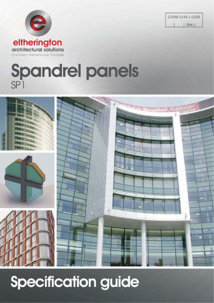Spandrel Panels Specification Guide