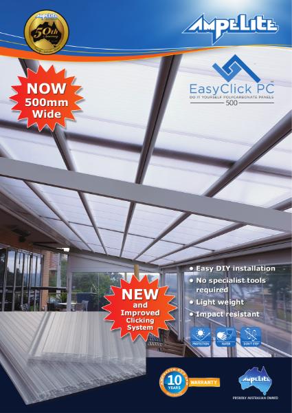 EasyClick PC - DIY Polycarbonate Panels