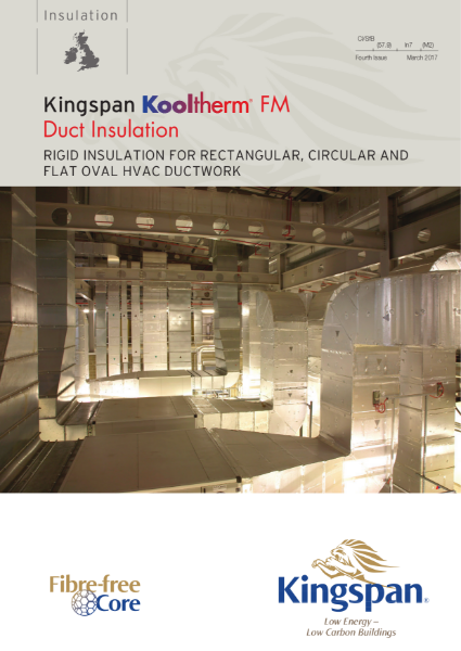 Kooltherm FM Duct Insulation Brochure
