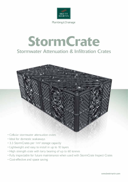 StormCrate - Stormwater Attenuation & Infiltration Crate