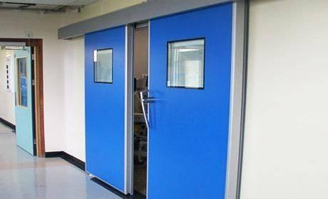 Dortek Hygienic Bi-Parting Sliding Doors