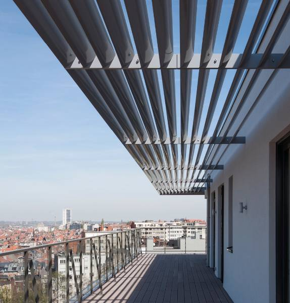 Livingstone Brussels - Solar Shading Brise Soleil