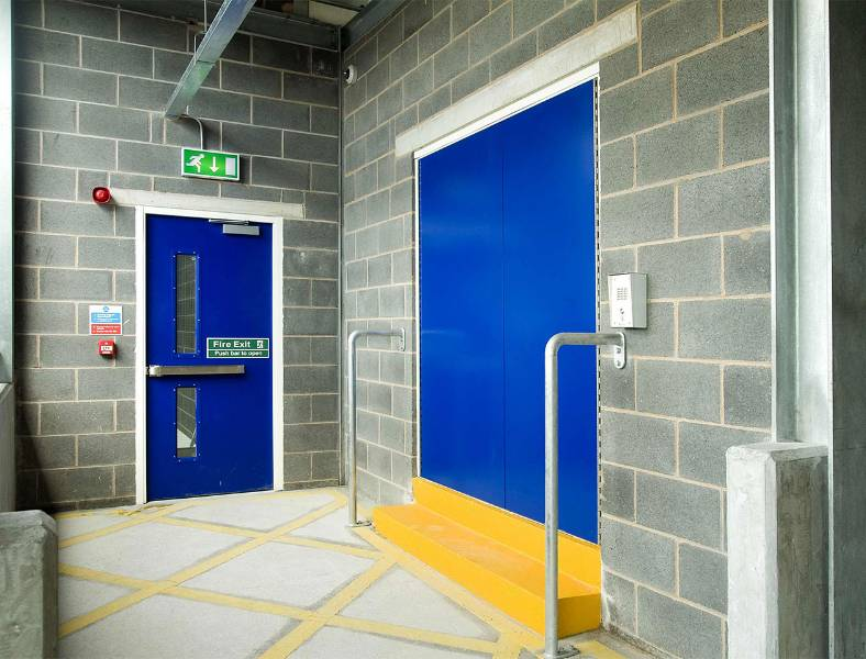 Fire Exit Steel Door - Armourdoor - AD10 Double