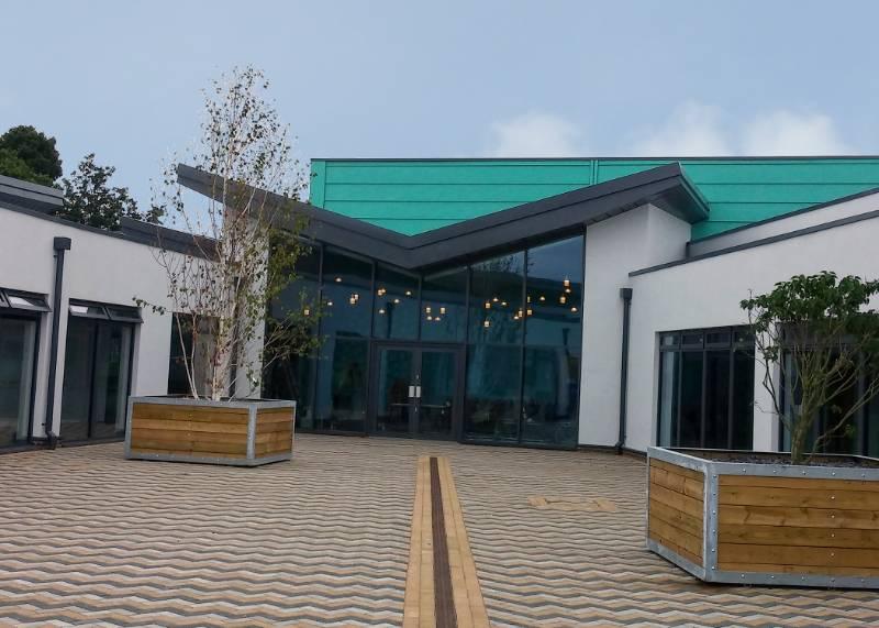ARP Provide Aluminium Roofline and Rainwater Solution for New School