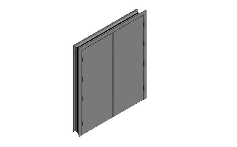 OUTA-DOR Outward Opening B - Equal Frame