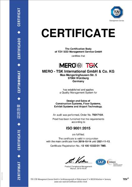 Mero-TSK ISO9001