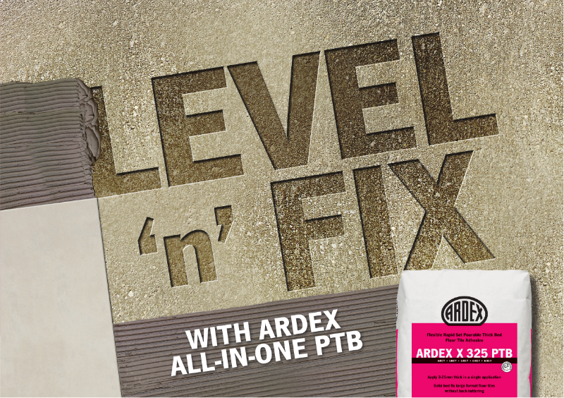 ARDEX X 325 PTB Thick Bed Tile Adhesive