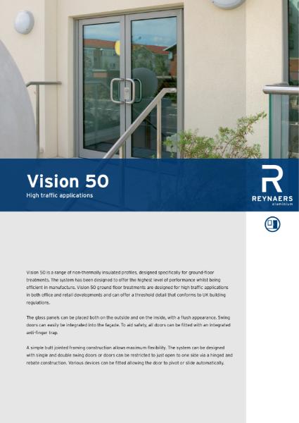 Aluminium Door System - Vision 50