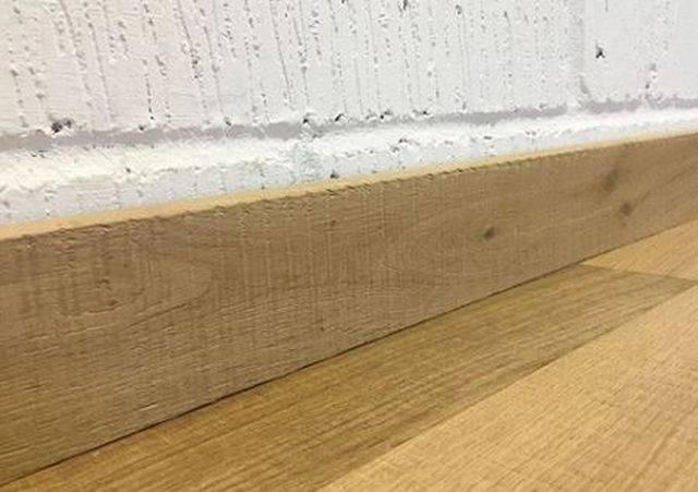 Cross Sawn Raw Timber Finish Matching Skirting