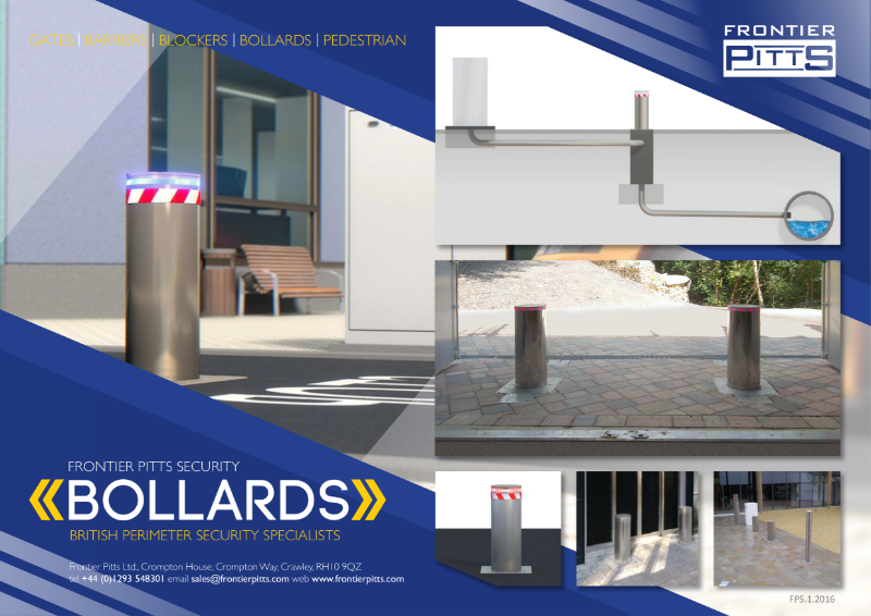 Retractable Rising Bollard