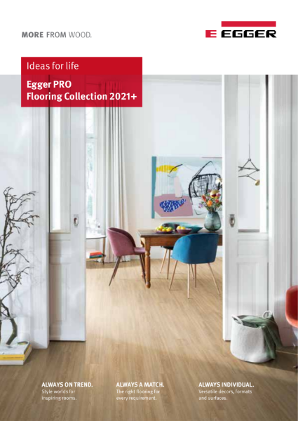 EGGER PRO Flooring Collection 2021+