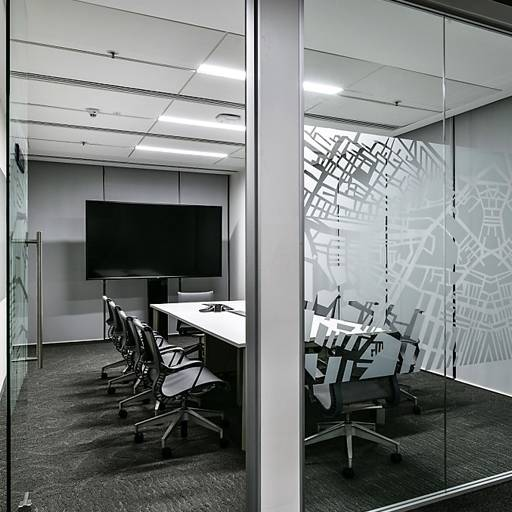Revolution 54 SG Partition, Centrally Glazed - Panel partitions