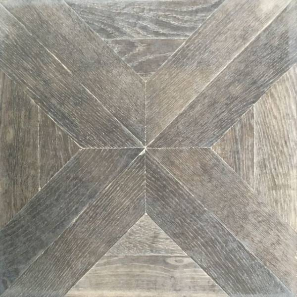 Antique Oak Parquet Panels