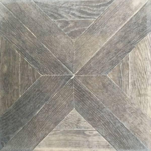 Antique Oak Parquet Panels