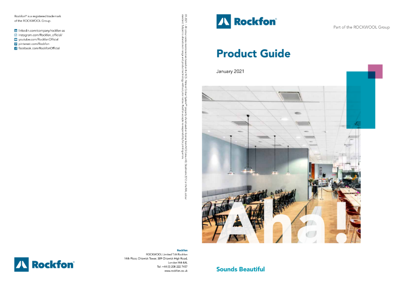 Rockfon Product Guide 2021