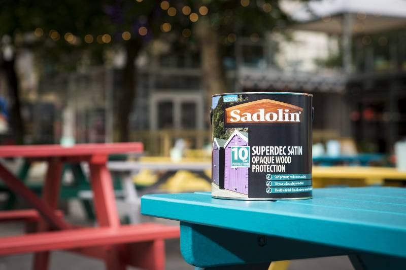 Sadolin Superdec champions the personality of colour at Manchester International Festival