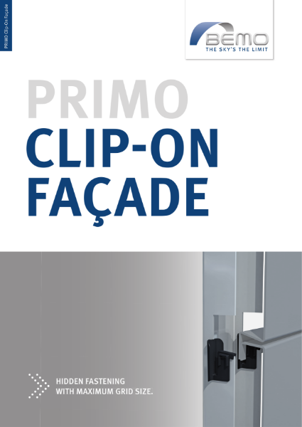 BEMO-PRIMO Clip on Facade