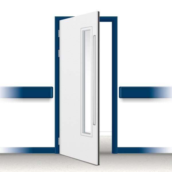 Postformed Single Doorset - Vision Panel 4