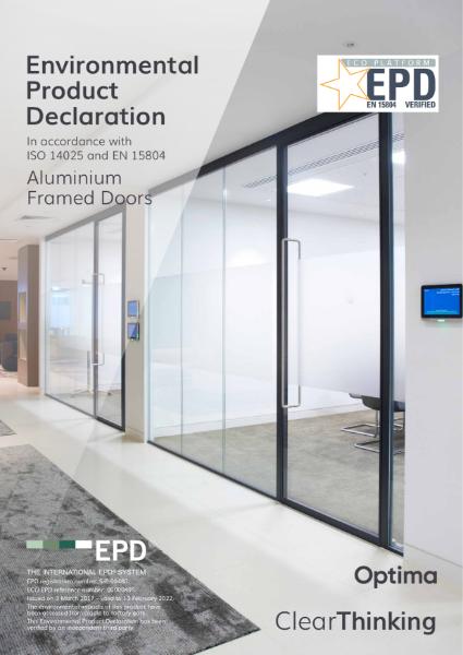 Environmental Product Declaration - Optima Doors