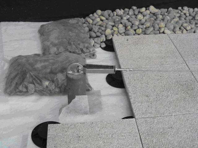 White Recycled Geotextile Fabrics